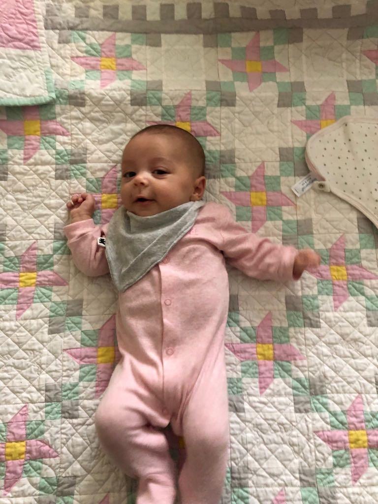 Sleeping Beauty Baby Quilt