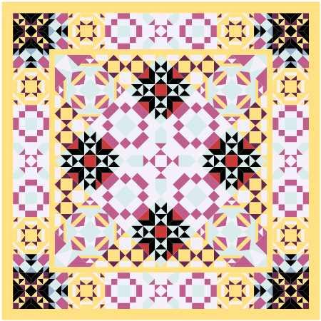 JQG Mystery Quilt design EQ8